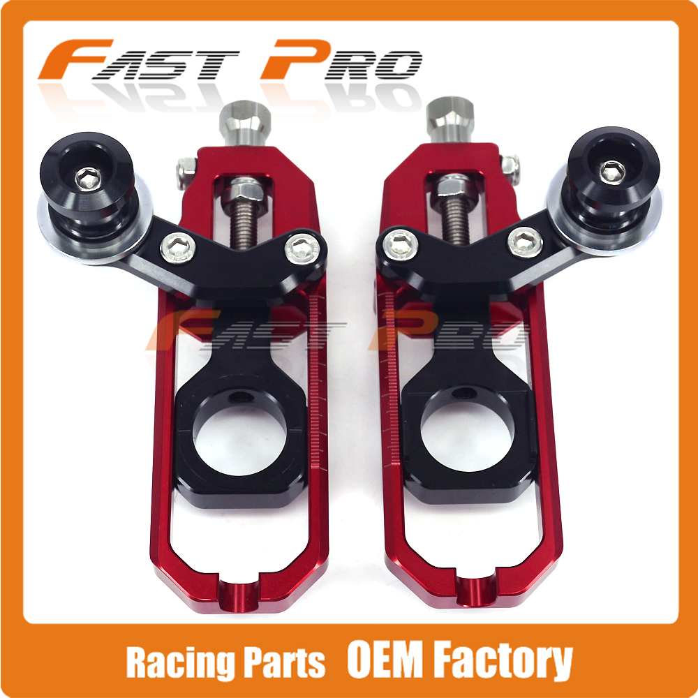 Motorcycle Chain Adjusters Tensioners With Spool for HONDA CBR1000RR CBR1000 RR 2008 2009 2010 2011 2012 arashi motorcycle radiator grille protective cover grill guard protector for 2008 2009 2010 2011 honda cbr1000rr cbr 1000 rr