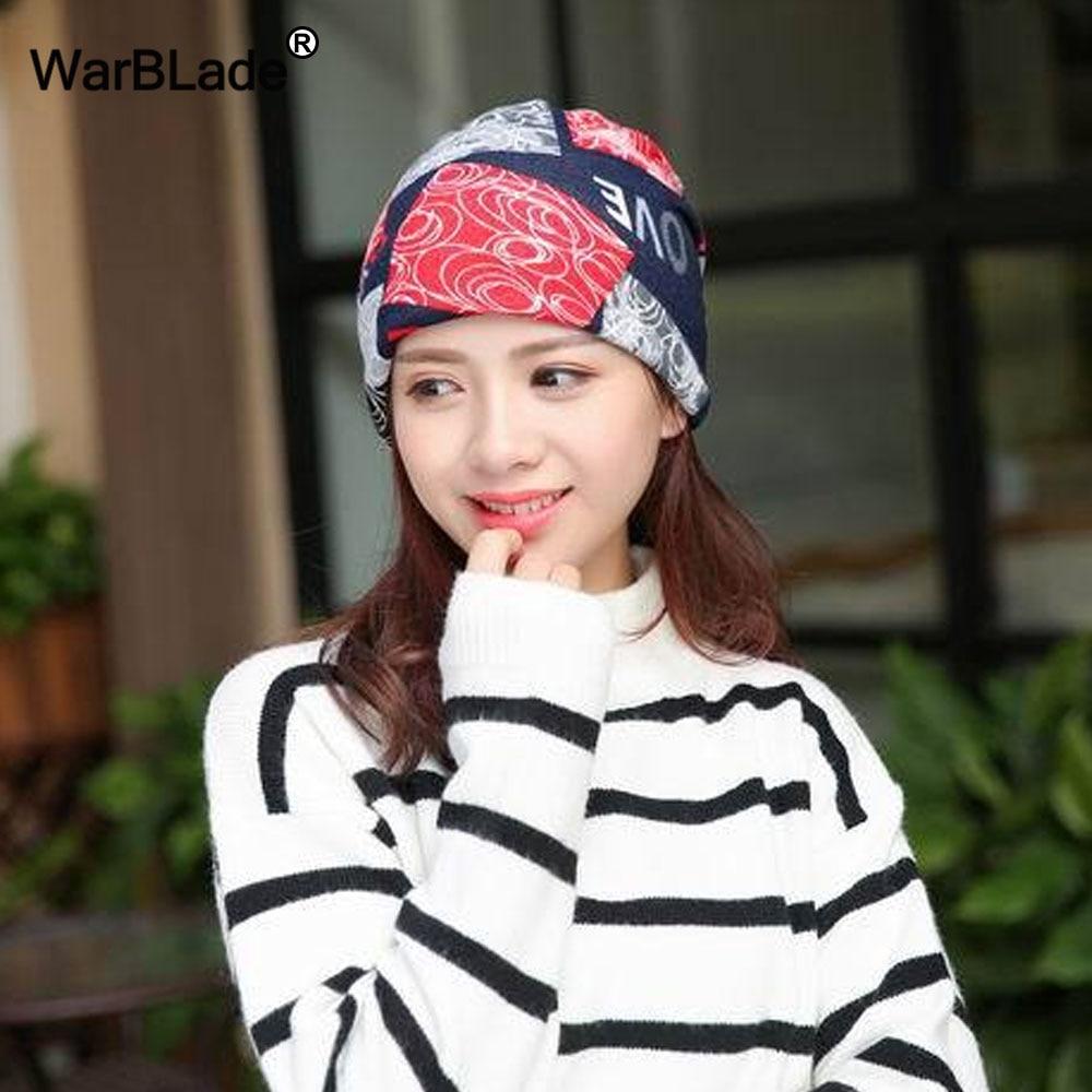 2018 New Fashion Headwear Women's hats Female Winter Caps Star hats ladies spring and autumn Hip-hot   Skullies     Beanies   WarBLade