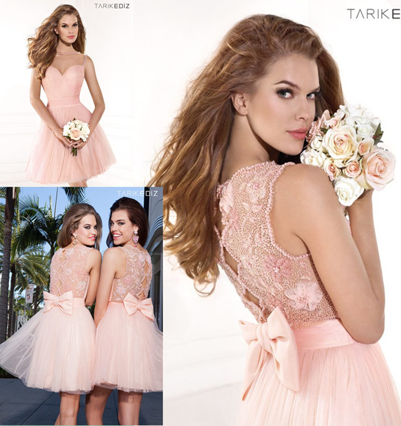 Popular Pink Homecoming Dresses under 100-Buy Cheap Pink ...