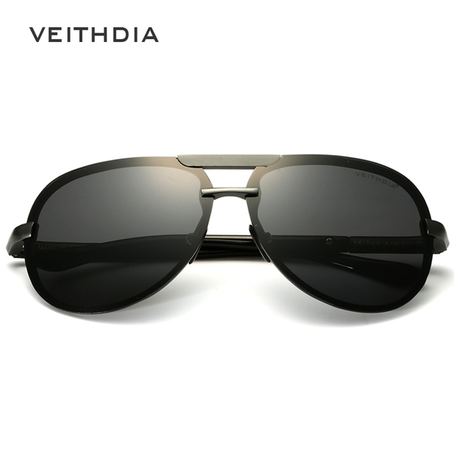 2018 VEITHDIA Aluminum Magnesium Men Sunglasses Polarized Classic Sun Glasses Male Eyewears Accessories gafas Oculos de sol 6500 3