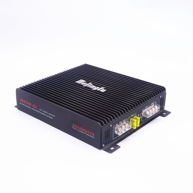 Best Offers Foreign trade export car amplifier high - power car audio modified 2 - channel two - way car amplifier 3200w