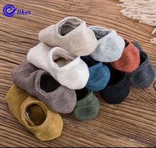 Meias femininas de inverno, 3 pares de meias curtas e grossas, invisíveis e grossas, para primavera e inverno meias,
