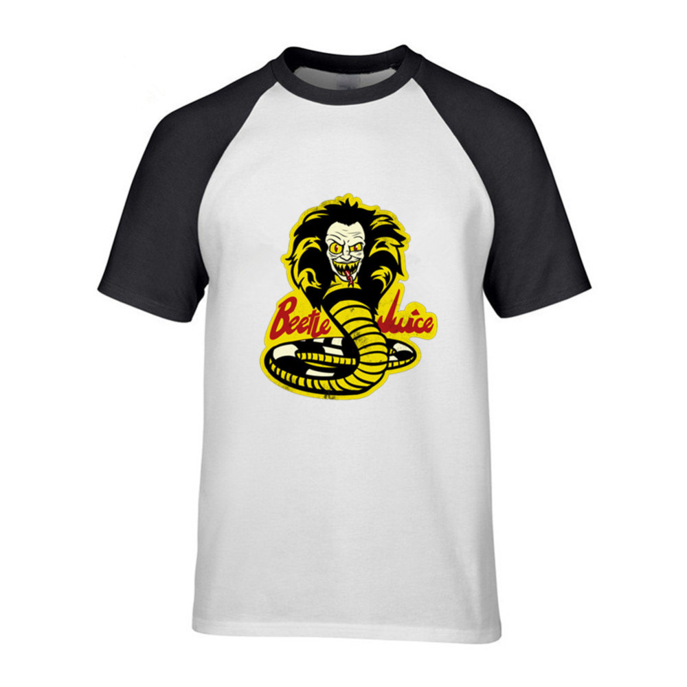 Antidaazle HOT SALE 2018 New Fashion T Shirts Brand Clothing Cotton Cobra Kai Karate Kid Movie Men'S crew neck T Shirt image