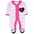 Baby Girl Одежда 2017 Новый Новорожденных одежда младенца хлопка девушки ползунки с длинными рукавами продукт младенца, ребенка комбинезон