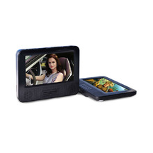 "Car Headrest DVD Player With Dual Screen+Car Headrest Monitor DVD Player BLACK 7.8"" Car DVD Player USB & SD"