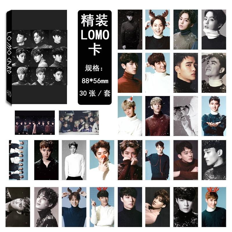 LK335 EXO  SING FOR YOU LOMO 30