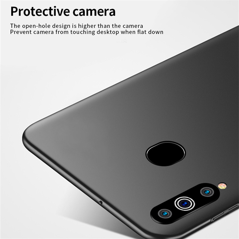 Image 5 - For Samsung Galaxy M30 Case Silm Luxury Ultra Thin Smooth Hard PC Phone Case For Samsung Galaxy M30 Cover For Samsung M30 Fundas-in Fitted Cases from Cellphones & Telecommunications