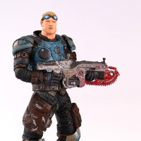 NECA GEARS OF WAR Baird Action Figures Boys Hobby Toys Games Collectable Figures Are