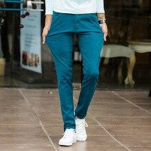 Erkek Moda Streç Ince rahat elbise Chino Pantolon Iş Pantolon Kırmızı Siyah Mavi Haki 28 29 30 31 32 33 34 36 38