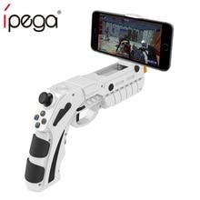 IPega Bluetooth Trigger ปืน Joystick สำหรับ Android iPhone โทรศัพท์มือถือ Controller Gamepad เกม Pad Gaming ควบคุมโทรศัพท์มือถือ