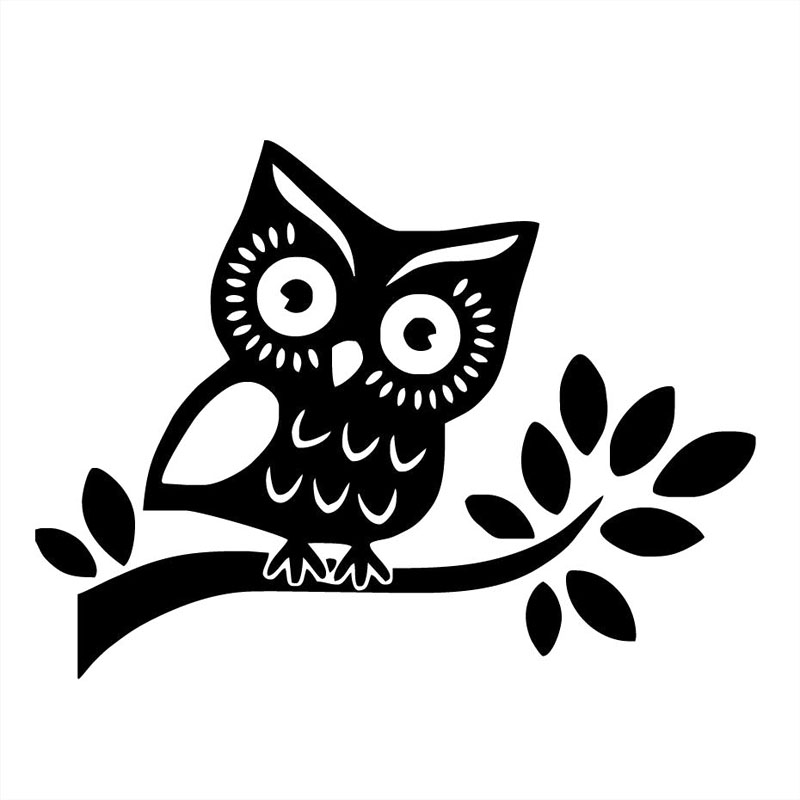 Online Get Cheap Owl Car Decal Aliexpresscom Alibaba Group - Owl custom vinyl decals for car