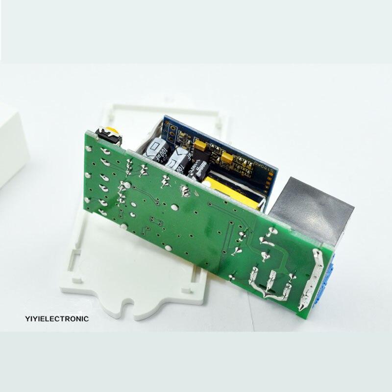 Zeiteinstellung Mikrowelle Radar Körper Sensor Bewegung HF Detektor Licht 220-240VAC Sensor schalter Radar induktion