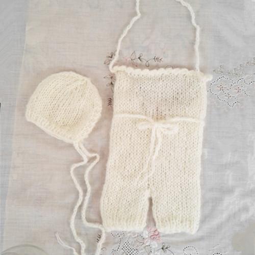 قبعة الصيف على غرار قبعة و jumpsuit_and - ملابس للأطفال الرضع