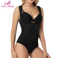 Lover Beauty Fat Burner Waist Trainer Neoprene Shapewear Vest With Zipper For Weight Loss Hot Sweat