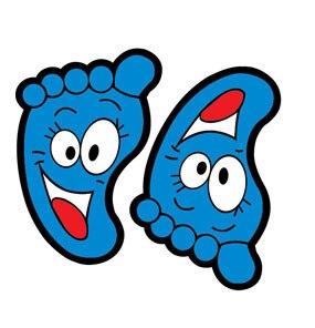 Новый мультфильм сада эскалатор декоративные настенные наклейки Детская комната Ванная комната милый маленький пол педаль декоративные н...