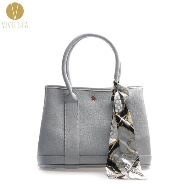 63b862f489a3 PU LEATHER GARDEN LARGE TOTE BAG - Women s Famous Fashion Brand Casual Top  Handle Shopper Shopping Shoulder Bag Handbag Bolsa
