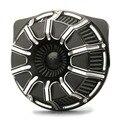 10-Gauge Воздухоочистители для ограничитель Harley 2018-2019, воздушные фильтры FLTRX FLHR FLHX FLHTCU Воздухозаборники 17-19 черный