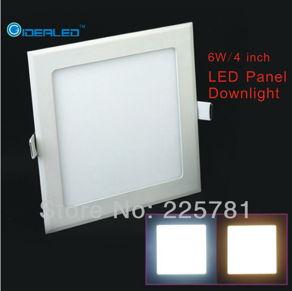 Downlights Square Led Panel Light Surface Mounted Led Downlight Led Ceiling Down Lights Ac110-240v 10pcs/lot Dimmable 9w 15w 25w Round