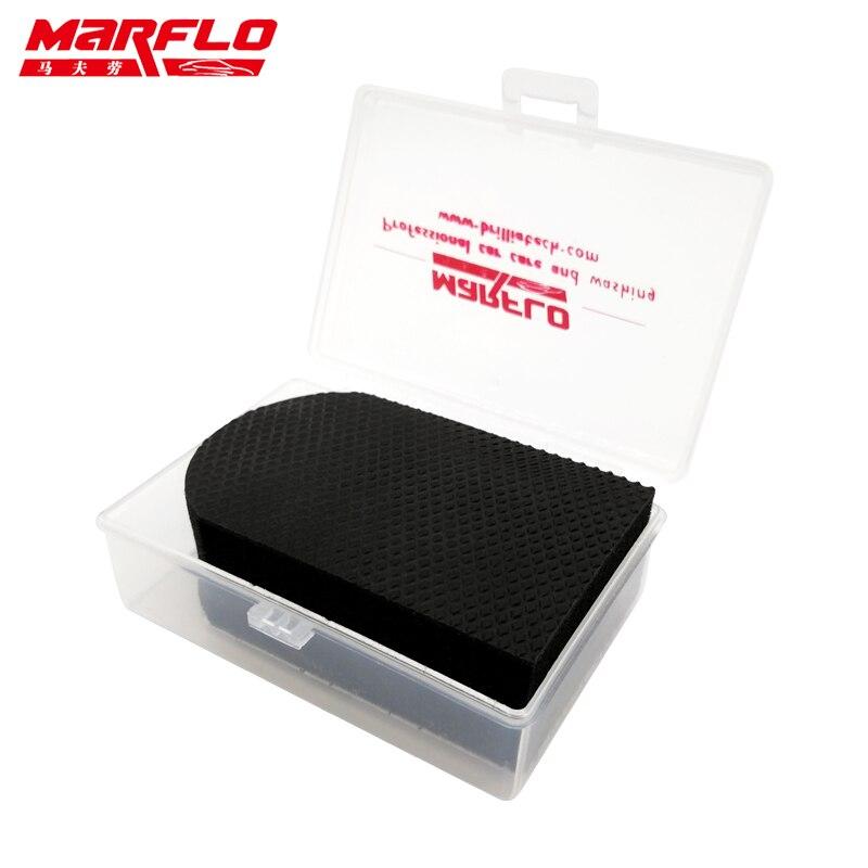 MARFLO Magic Clay Bar For Cleaning Sponge Block Car Wash Eraser Car Truck Clean Clay Bar Auto Detailing Cleaner Car Washer