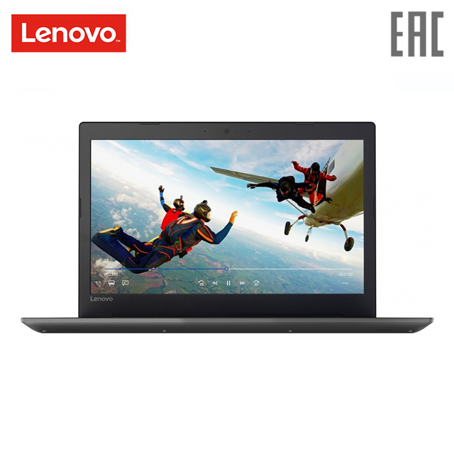 Ноутбук Lenovo 320-15IAP 15.6/N4200/500 ГБ/4 ГБ/Radeon 520/noodd/Win10/ черный (80XR002KRK)