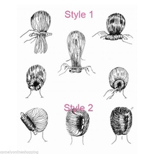 Hair Updo Styling Bun Maker