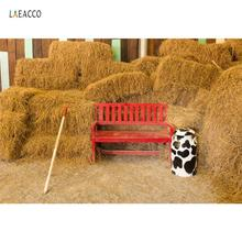 Laeacco Farm Haystack Rural Warehouse Country Party Baby Portrait Scenic Photo Background Photography Backdrops For Studio