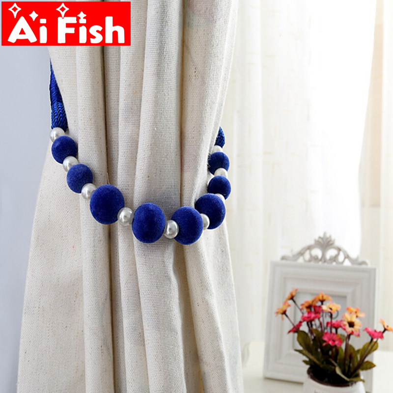 Curtain Accessories Handmade DIY Colorful Beads Hanging