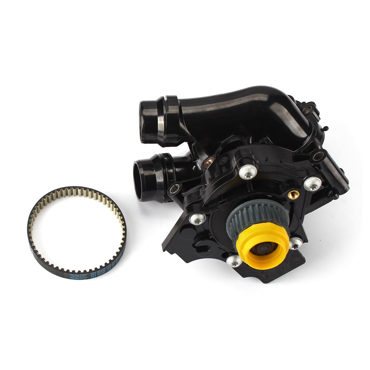 EA888 1.8TFSI 2.0TFSI Engine Water Pump w/Belt 06H 121 026 For VW Jetta GTI Passat AUDI SEAT oem engine water pump fit vw jetta gti golf gti tiguan passat audi a3 a4 a5 a6 a8 ea888 1 8tfsi 2 0tfsi 06h 121 026 cq
