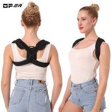 OPER Shoulder Fracture Clavicle Support Bandage Children Adult Straighten Posture Corrector Back Brace Shoulder Adjustable