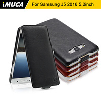 IMUCA Flip Leather Case For Samsung Galaxy J5 2016 Case Cover Samsung Galaxy J5 2016 Fundas