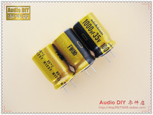 30PCS Nichicon FW series 1000uF/35V audio electrolytic capacitors free shipping