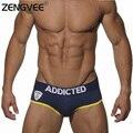 Algodón de moda hombres briefs underwear sexy low rise underwear hombre popular marca gay shorts-(m l xl)