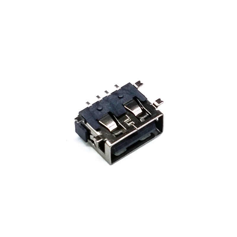 """10 יח'\חבילה USB 4 פינים USB מחברים שטוח תשלום תקע שקע שקע מחבר חוט Adapeter מח""""ש"""