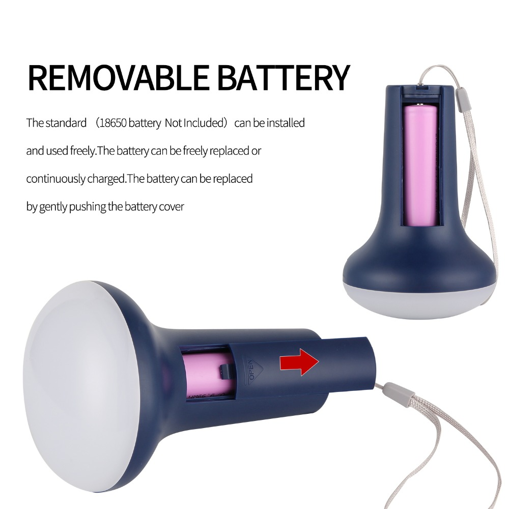 Three levels of brightness can be adjusted Supporting SOS mode rechargeable Portable lamp for mosquito repellent and Flashlight in LED Flashlights from Lights Lighting