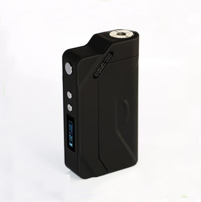 Genuine Sigelei 150W TC Box Mod Electronic Cigarettes Battery Sigelei 150W Temp Control Mods 18650 Mod Black perseus 150w tc box mod