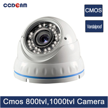 CCDCAM CCTV Dome Camera cmos 800/ 1000 tvl Video Surveillance Camera outdoor
