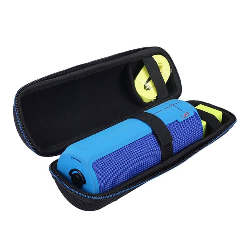 Zipper Pouch Bag For Logitech UE MegaBoom Bluetooth Audio Package Charger Portable Travel Carry Hard Case Bag Holder Storage