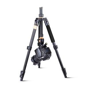 Image 4 - QZSD Q555 Aluminium Alloy Camera Tripod  Video Monopod Professional Extendable Tripod with Quick Release Plate and Ball Head