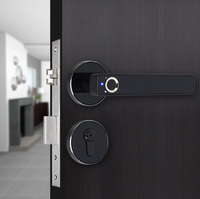 Fingerprint lock indoor wooden door intelligent lock household burglar proof door lock