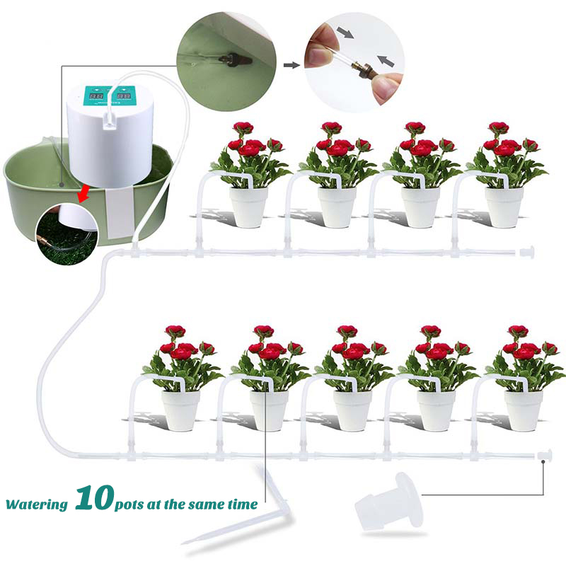 HTB14uMnXELrK1Rjy0Fjq6zYXFXa6 - Automatic Watering Device Watering Device Drip Irrigation Tool Water Pump Timer system