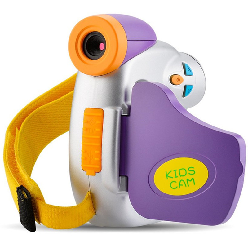 HOT Children Digital Camera with 1.44 Inch TFT Colored Screen Educational Gift F