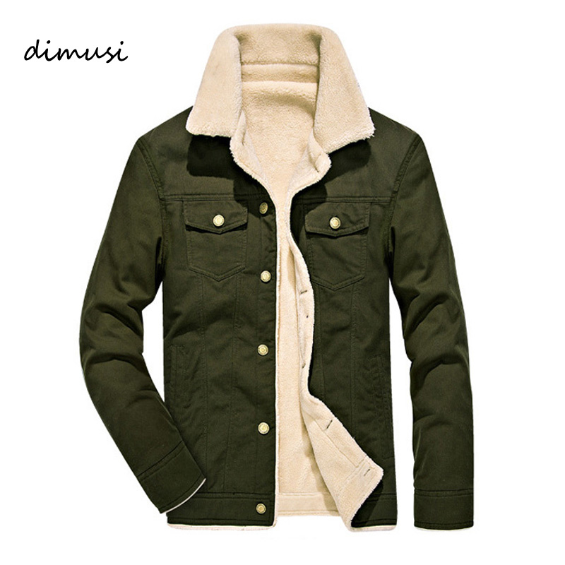 DIMUSI Winter Bomber Jacket Men Air Force Pilot MA1 Jacket Warm Male fur collar Army Jacket Innrech Market.com