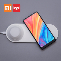 Original Xiaomi Mijia Yeelight Wireless Fast Charger Phone Quick Charge Magnetic Attraction LED Night Light for Iphone X Samsung
