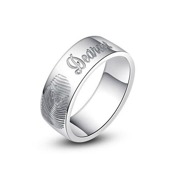 fingerprint ring engraving