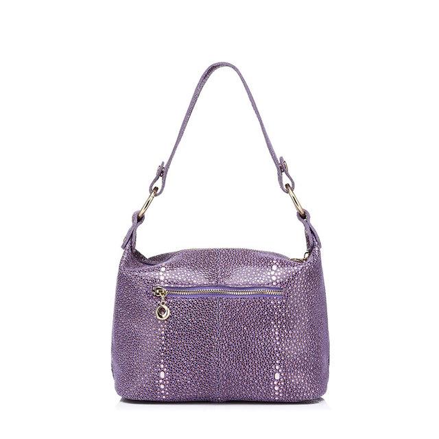 REALER brand fashion women genuine leather  tote bag high quality ladies tassel shoulder bag female  handbag 2017 new arrival