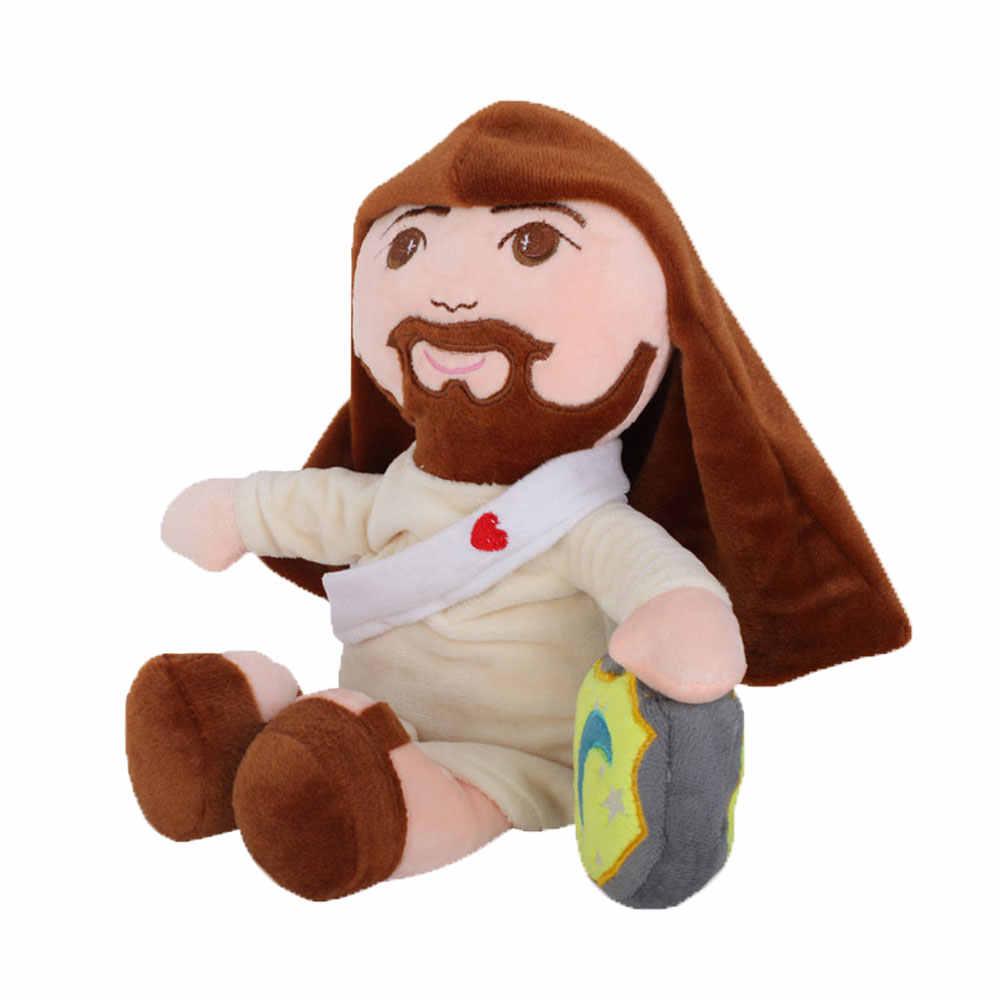 Plush Brinquedo Boneca Cristão Senhor Jeová Deus Jesus Cristo