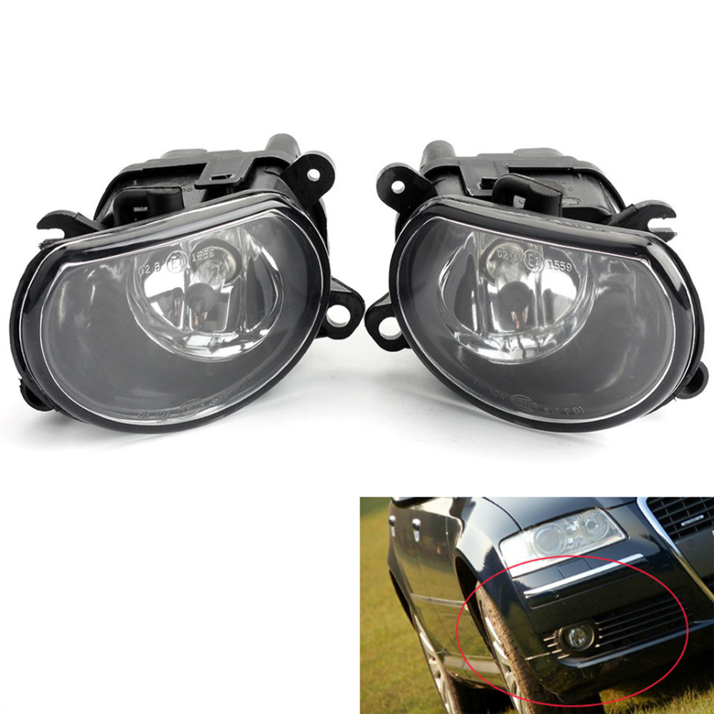 цена на For Audi A8 D3 2004 2005 2006 2007 Auto Fog Light Lamp Car Front Bumper Grille Driving Lamps Fog Lights Set Kit 4E0941699A