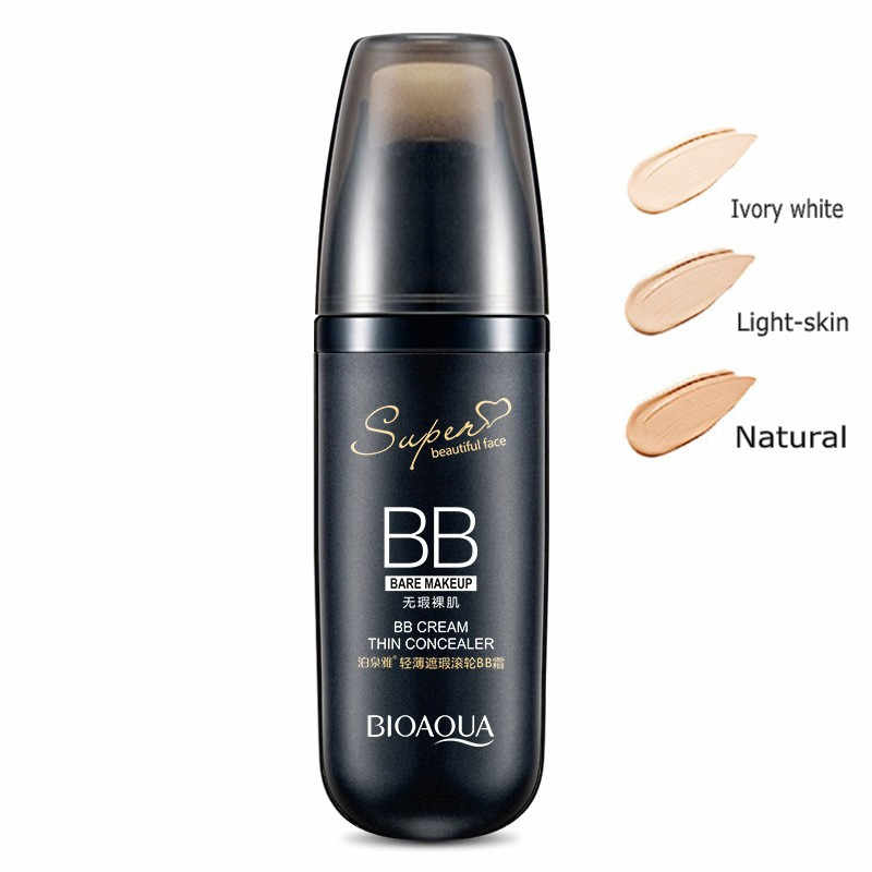 Bioaqua Air Cushion BB Cream Concealer Pelembab Foundation Makeup Telanjang Whitening Face Beauty Makeup Kosmetik Korea