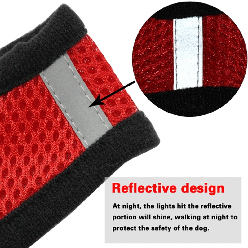 Mesh Pet Vest Harness and Leash Set Breathable Small Dog Puppy Cat Vest Harness Collar For Chihuahua Pug Bulldog Cat arnes perro 2