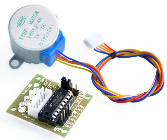 5pcs/lot Smart Electronics 28BYJ-48 5V 4 Phase DC Gear Stepper Motor + ULN2003 Driver Board for Arduino UNO MEGA R3